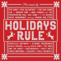 V/A - HOLIDAYS RULE (CLEAR RED VINYL)