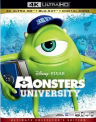 MONSTERS UNIVERSITY - MONSTERS UNIVERSITY (4K) (WBR) (COLL) (3PK) (AC3)