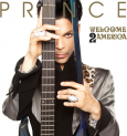 Prince - WELCOME 2 AMERICA (SPOTGLOSS COVER)