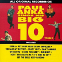 Anka, Paul - SINGS HIS BIG TEN VOL.1