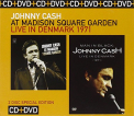 Cash, Johnny - AT MADISON SQUARE + DVD