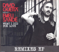 Guetta, David - WHAT I DID FOR LOVE -EP-