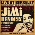 Hendrix, Jimi - LIVE AT BERKELEY