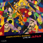 HOWELL,  JOSEPH -QUARTET- - LIVE IN JAPAN