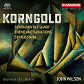 KORNGOLD / SINFONIA OF LONDON / WILSON - SYMPHONY IN F SHARP (HYBR)