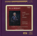 Marriner / Mozart / Academy of St Martin - THREE DIVERTIMENTI FOR STRINGS