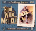 McTell, Blind Willie - CLASSIC YEARS 1927-1940 (BOX)