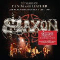 Saxon - 10 YEARS OF.. -CD+DVD-