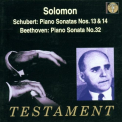 SCHUBERT/BEETHOVEN - SOLOMON PLAYS SCHUBERT &