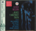 Nelson, Oliver - BLUES & THE ABSTRACT TRUTH (LTD) (REIS) (UHQCD) (MQA) (JPN)